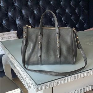 Alexander Wang Grained Leather Daria Stud Bag